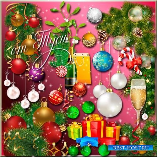 Клипарт - Новогодний сюрприз