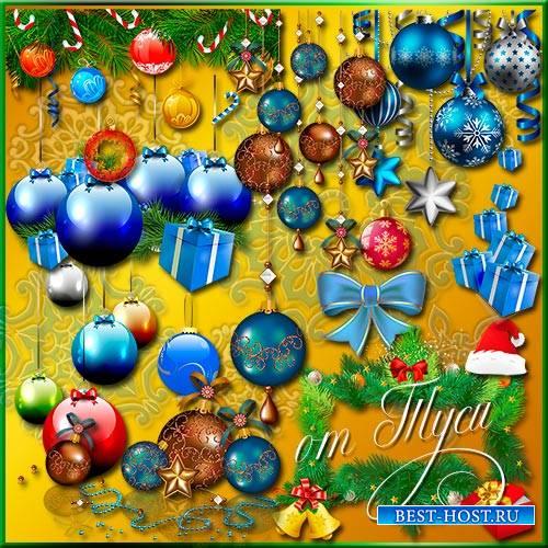 Клипарт - Новогодний фейерверк