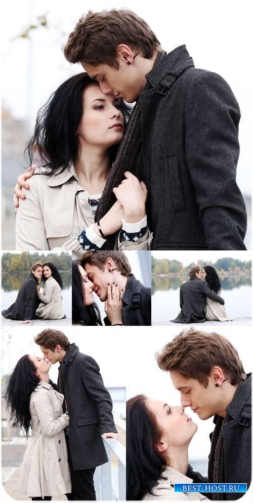 Влюбленная пара, мужчина и женщина - сток фото
