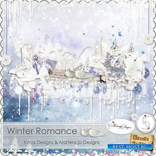 Зимний скрап-комплект - Зимняя романтика