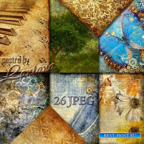 Текстуры и фоны для фотошопа - Винтаж и гранж