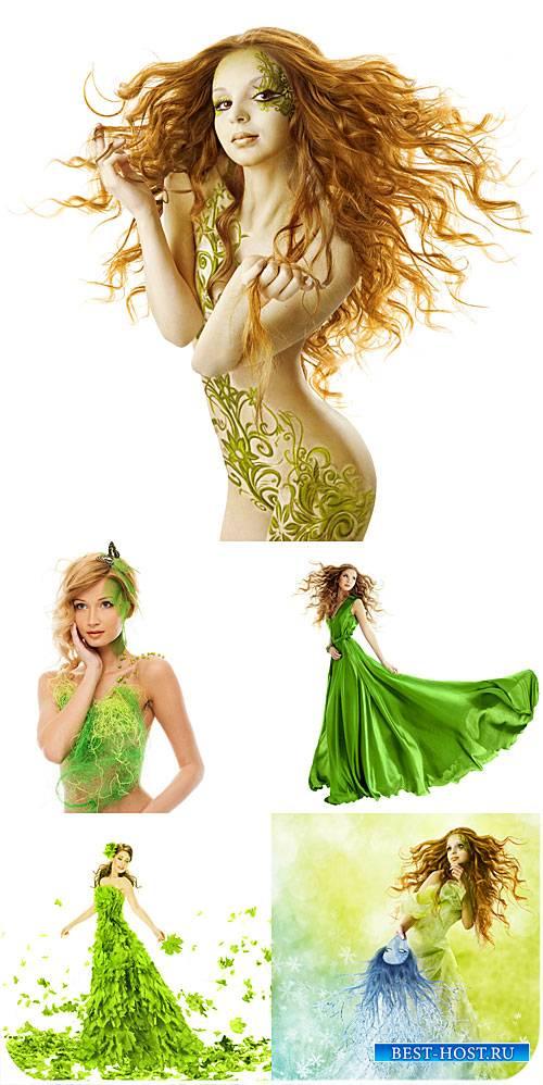Девушка весна, креативные женские образы / Spring girl, creative female ima ...