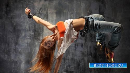 Шаблон для фотошопа - В танце