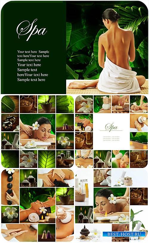 Спа коллажи, красота и уход за телом / Collages spa, beauty and body care - ...