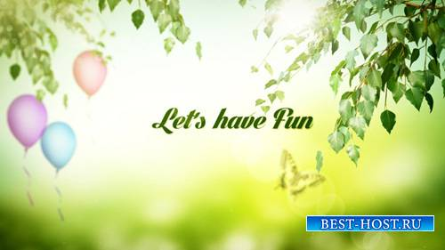 Lets Have Fun - Project for After Effects (Videohive)