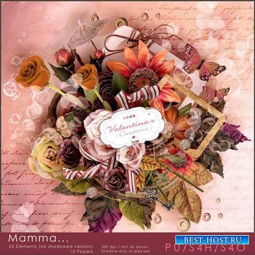 Романтический скрап-комплект - Мамочка