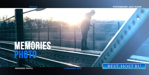 Memory Photo Slideshow - Project for After Effects (Videohive)