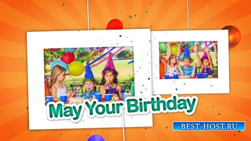Happy Birthday Celebrations Photo Gallery - Project for After Effects (Vide ...