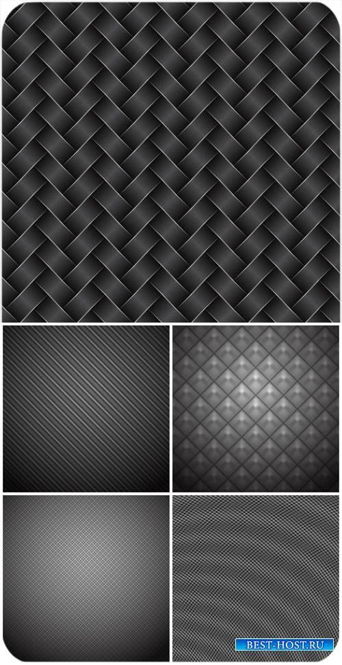 Черные фоны в векторе / Black backgrounds vector