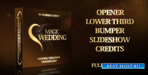 Magic Wedding - Project for After Effects (Videohive)
