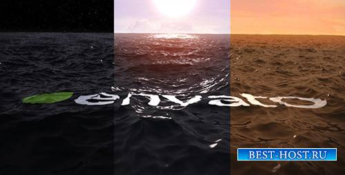 Ocean Water Logo Ident - Project for After Effects (Videohive)