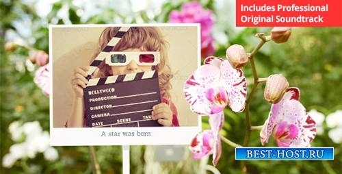 Photo Gallery with Sunny Flowers - Project for After Effects (Videohive)
