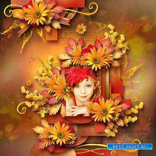 Цветочный скрап-комплект - Цветы