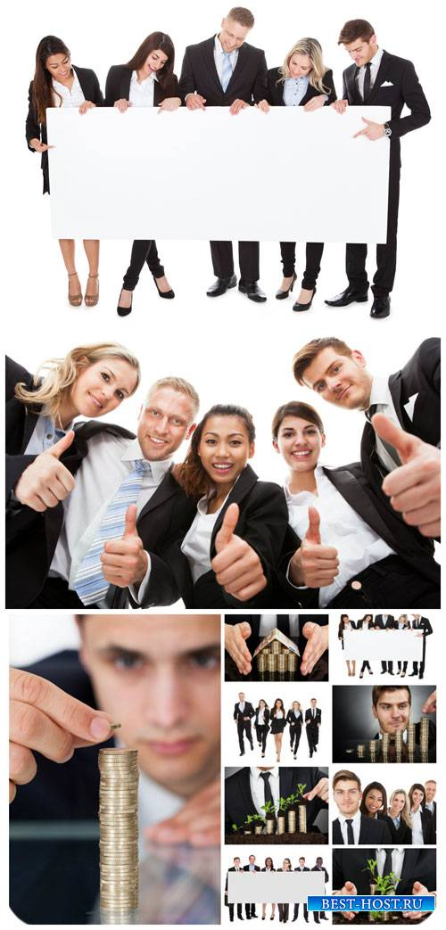 Бизнес, бизнес люди / Business, business people - Stock Photo