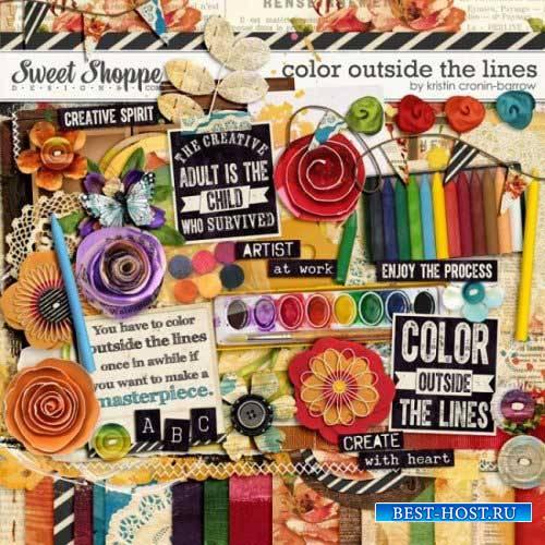 Художественный скрап-комплект - Color Outside the Lines