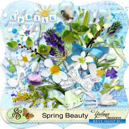 Яркий весенний скрап-комплект - Весенняя прелесть
