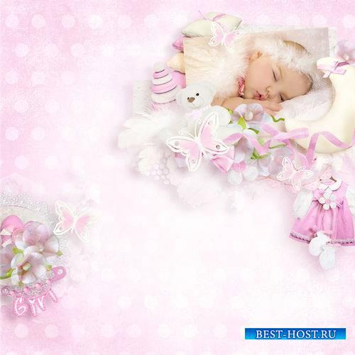 Очаровательный детский скрап-комплект - Моя малышка
