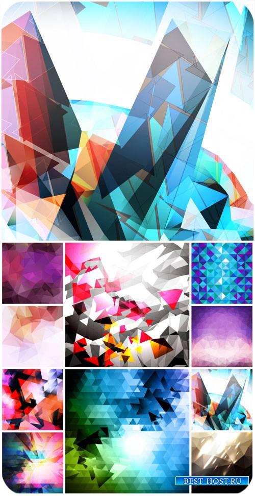 Фоны, абстракция в векторе / Backgrounds, abstract vector #2