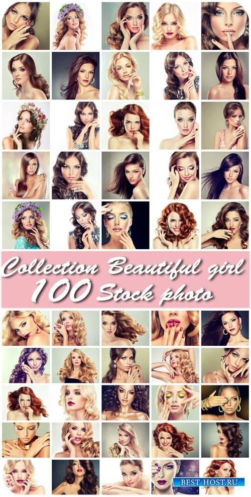 Девушки, красота, стиль, гламур / Girl, beauty, style, glamor - Stock photo