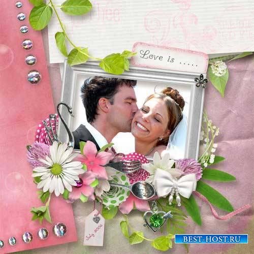 Романтический скрап-комплект - Любовное зелье