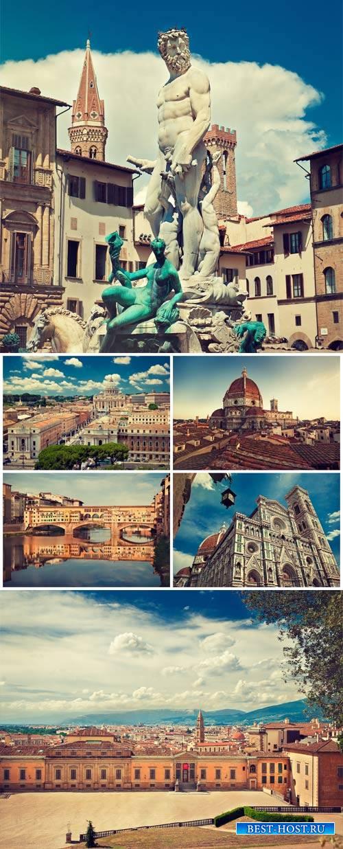 Италия, архитектура / Italy, architecture - Stock photo