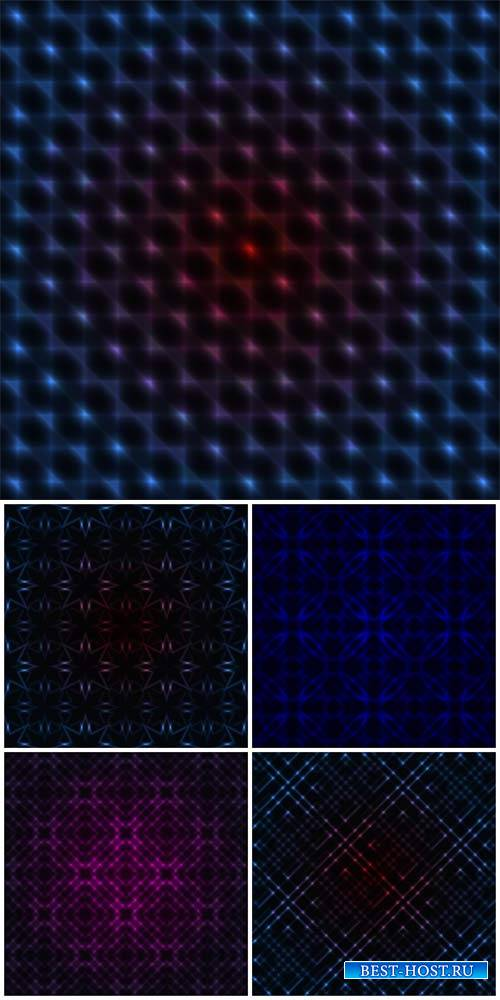 Абстрактные векторные фоны / Abstract vector backgrounds, background with l ...