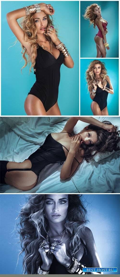 Соблазнительные девушки в нижнем белье / Seductive girl in lingerie - Stock Photo