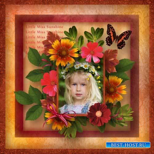 Цветочный скрап-комплект - Немного лета
