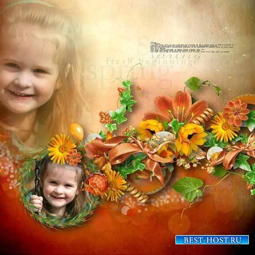 Цветочный скрап-комплект - Весенняя свежесть