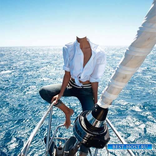 Прокатиться на яхте - шаблон женский