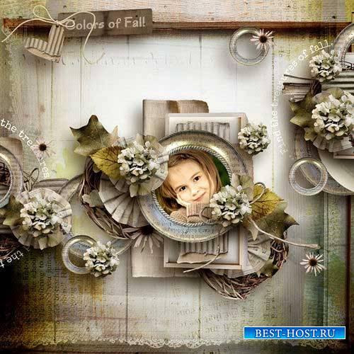 Осенний скрап-комплект - Осенние сокровища