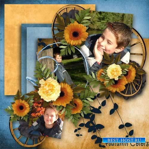 Осенний скрап-комплект - Нежная осень