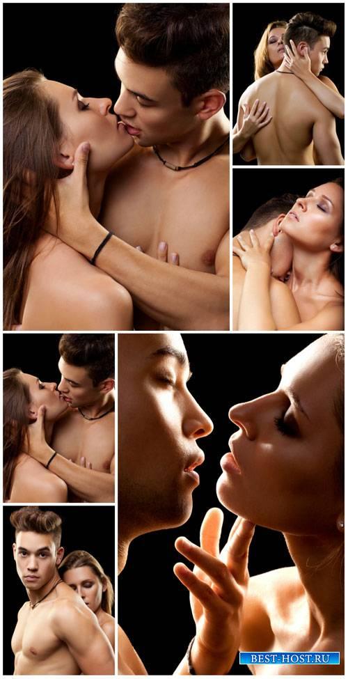Пара, мужчина и женщина, любовь / Couple, man and woman, love - stock photo
