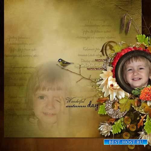 Осенний скрап-комплект - Осенняя история