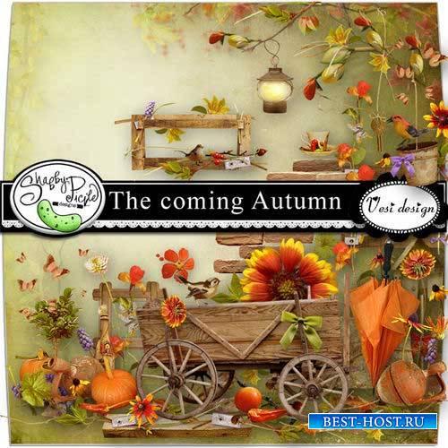 Осенний скрап-комплект - Наступающая осень