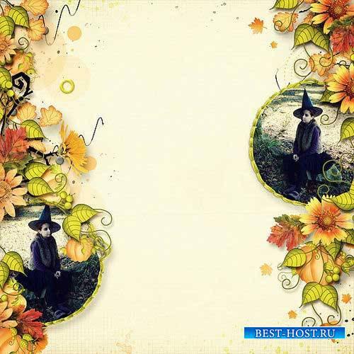 Осенний скрап-комплект - Октябрьская луна