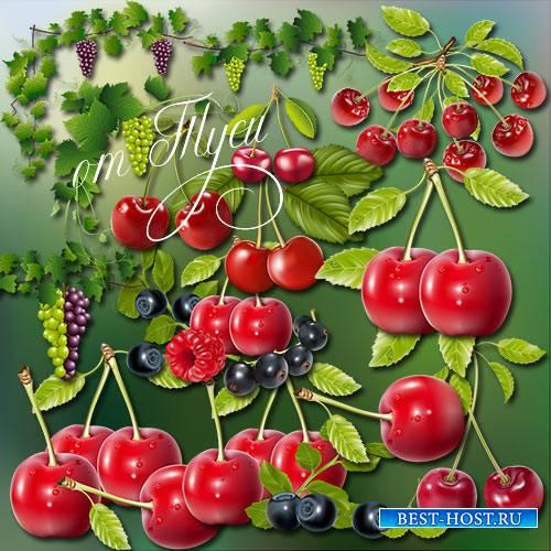 Клипарт - Ягод вкус и аромат летом в миг приворожат