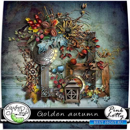 Осенний скрап-комплект - Золотая осень
