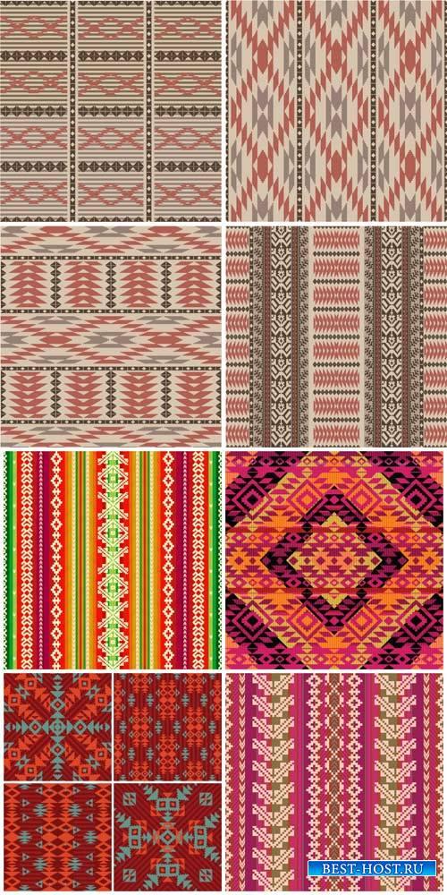 Векторные текстуры, фоны с узорами / Vector textures, backgrounds with patterns#2