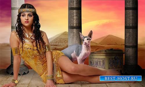 Шаблон  женский - В стране пирамид