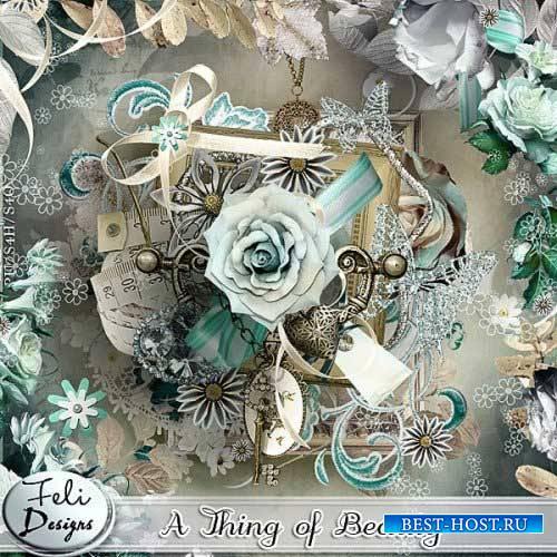 Винтажный скрап-комплект - A thing of beauty