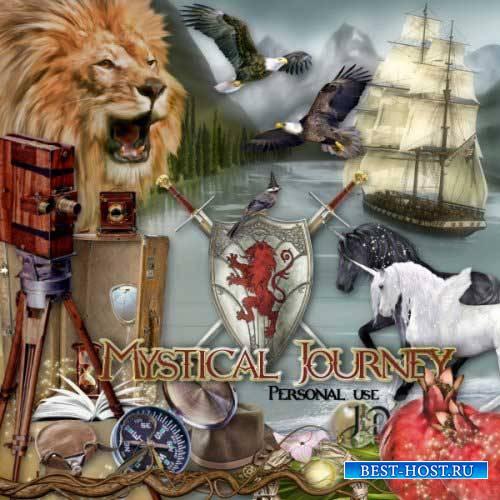 Детский скрап-комплект - Мистическое путешествие