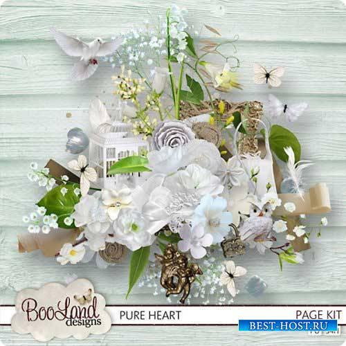 Очаровательный свадебный скрап-набор - От чистого сердца