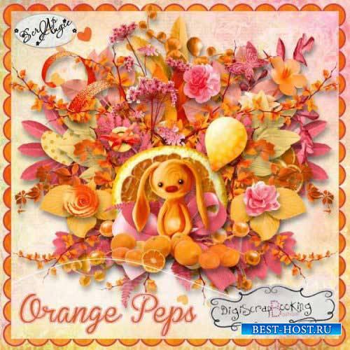 Осенний скрап-комплект - Orange peps