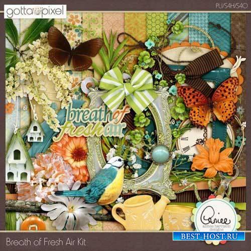Цветочный скрап-комплект - Breath of Fresh Air