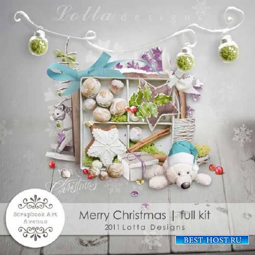 Новогодний детский скрап-набор - Счастливое Рождество