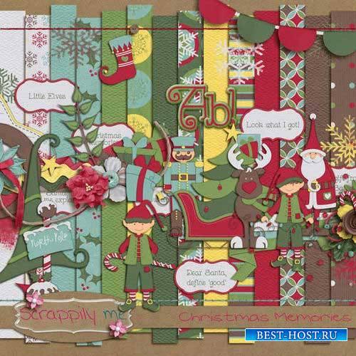 Новогодний скрап-комплект - Рождественские воспоминания