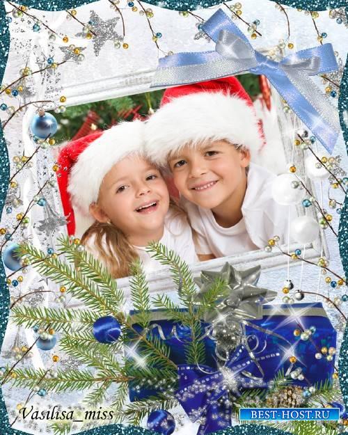 Новогодняя рамка - Новогодние подарки