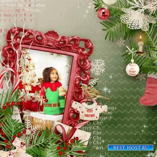 Новогодний скрап-комплект - В ожидании Рождества