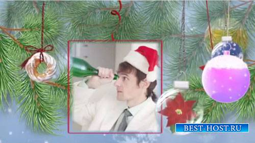 Новогодний проект для ProShow Producer - Новогодний мальчишник